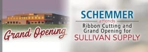 Sullivan Supply Ribbon Cutting