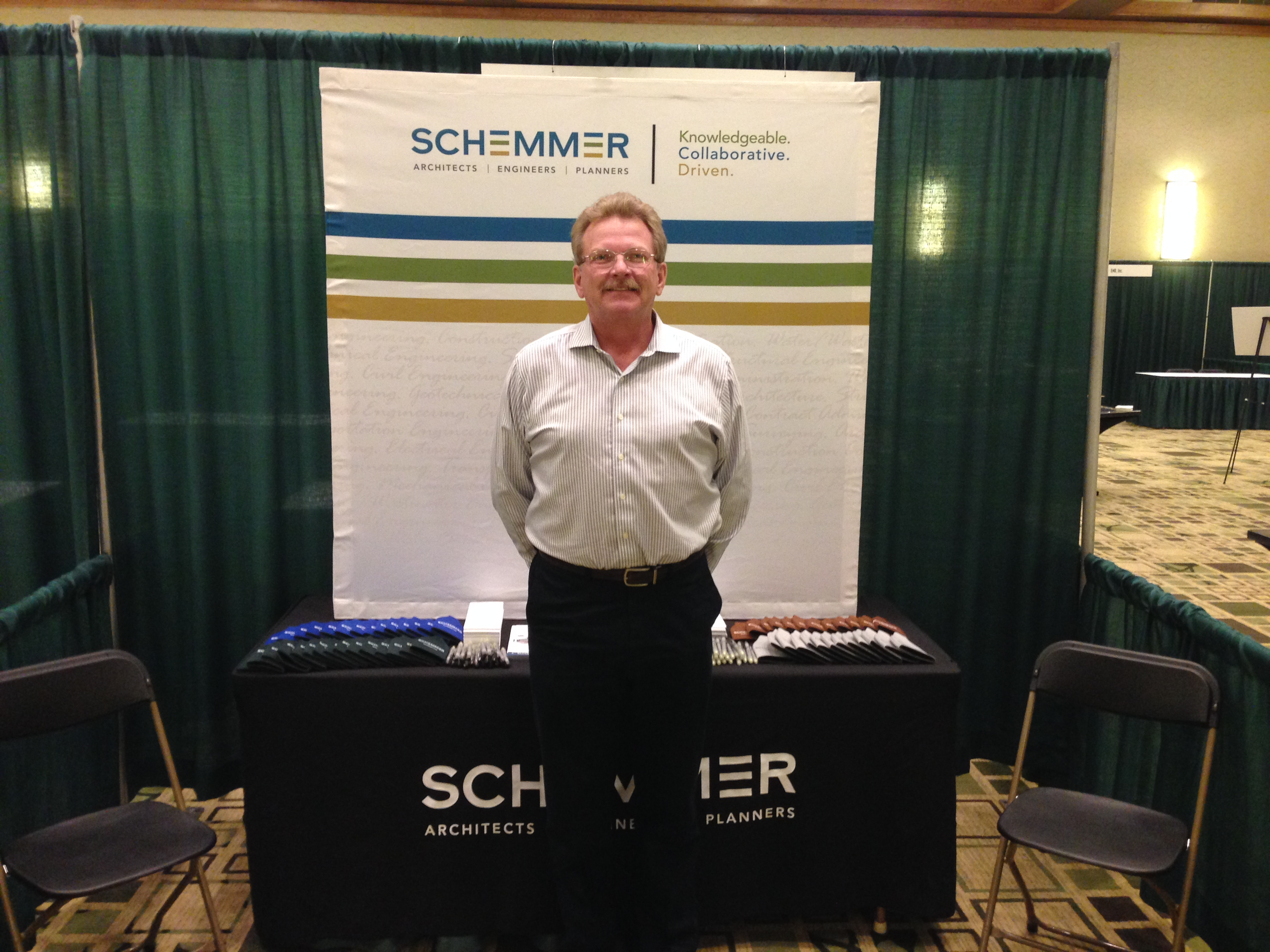 Loras Klostermann, P.E. attends 2015 SAME Omaha Post Industry Day