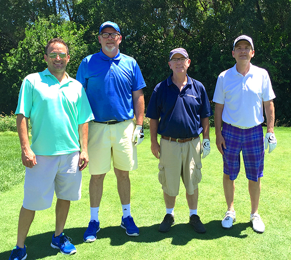 Left to Right: Gabe Astorino (City of Omaha), Tim Conway, Vance Clark, Gary Kinloch (Omni Engineering Co.)