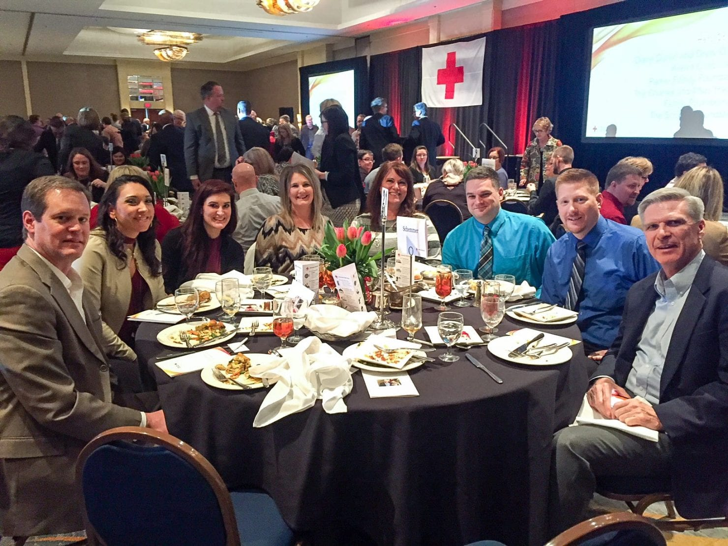 Schemmer Attends the American Red Cross Heroes in the Heartland Luncheon