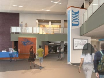 UNK Nebraskan Student Union Architecture Services