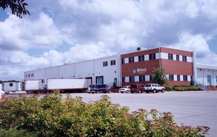 LOCATION & Millard Refrigerated Services
