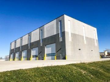 Iowa Army National Guard Vehicle Maintenance Instructional Facility