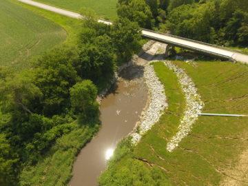 County Road G66 Bridge Bank Stabilization