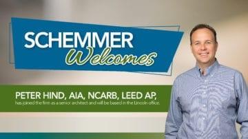 Schemmer Welcomes Peter hind