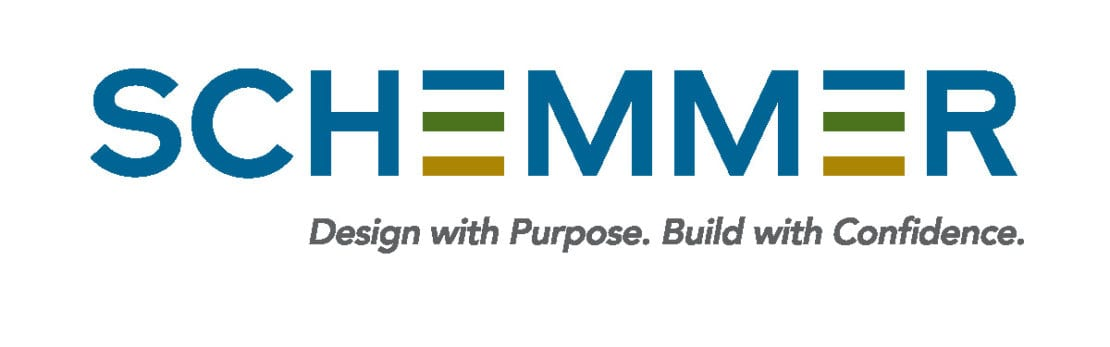 Schemmer Logo_Design with Purpose. Build with Confidence.