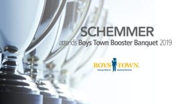 Schemmer attends Boys Town Booster Banquet 2019