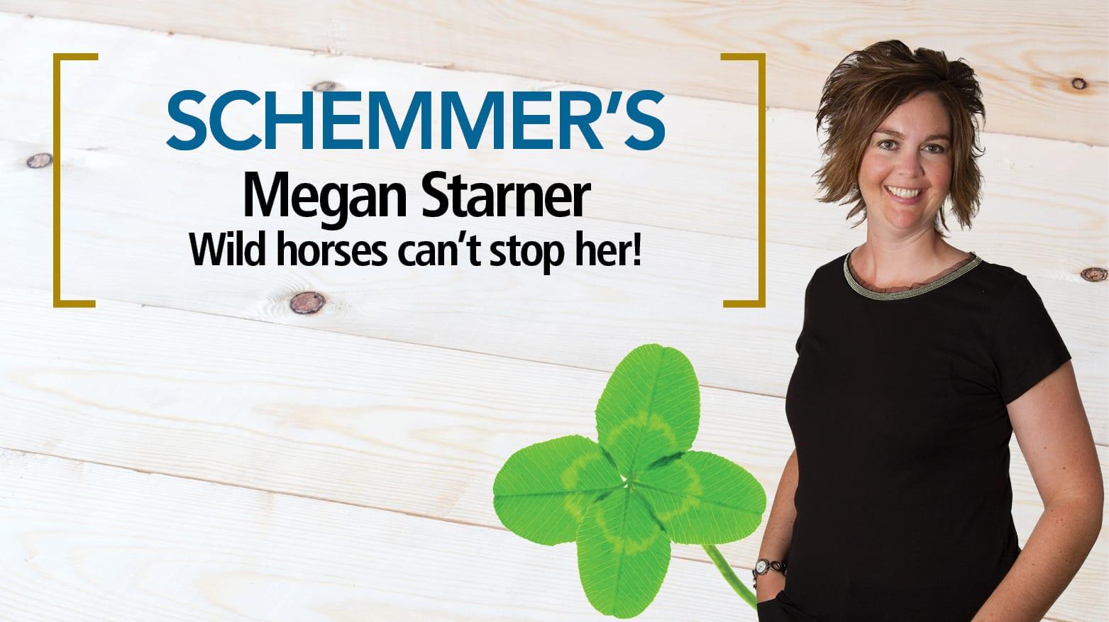 Schemmer's Megan Starner Receives Heart of 4-H Award