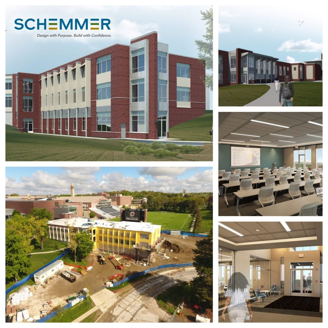 Schemmer Biomechanics Research Addition Omaha, Lincoln, Des Moines