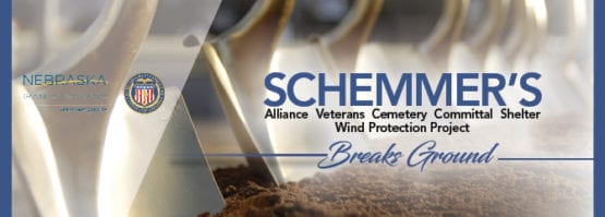 Alliance Cemetery Committal Shelter Groundbreaking