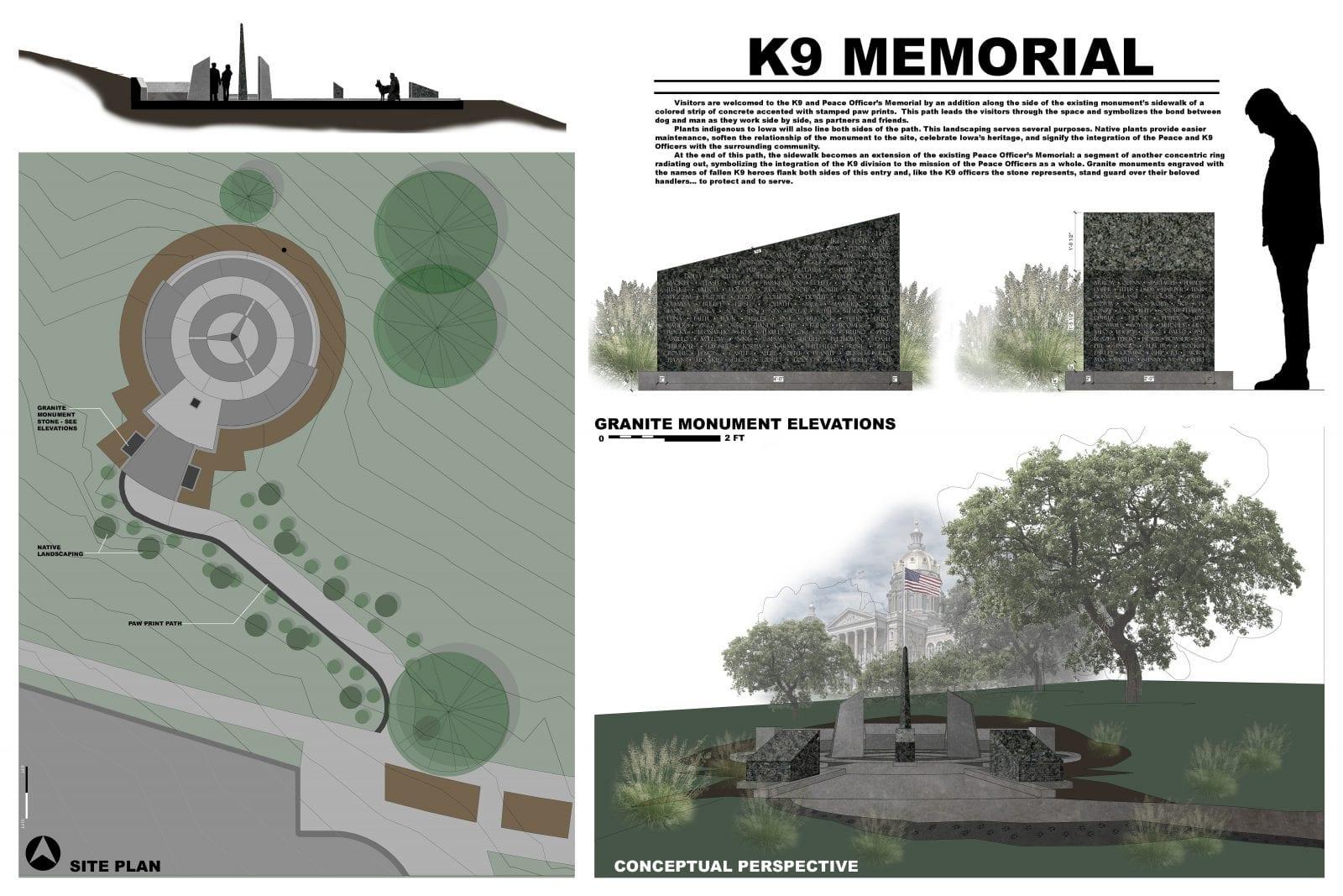 State of Iowa K9 Memorial Contest schemmer