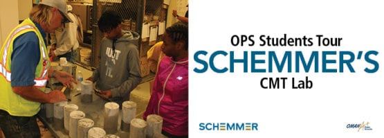 OPS Students CMT Lab Tour Schemmer