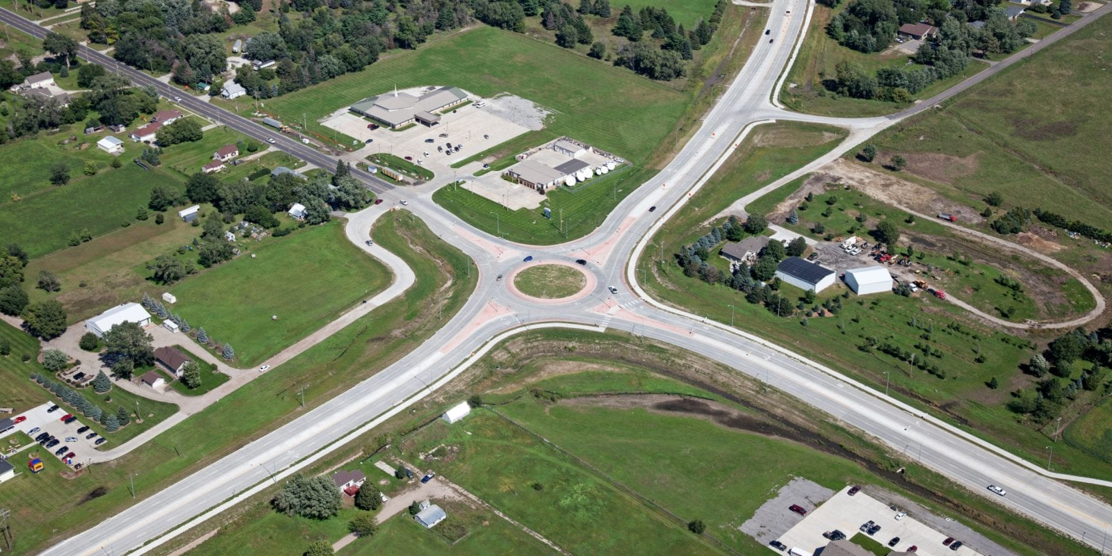 Norfolk Roundabout | Roundabouts Improve Safety