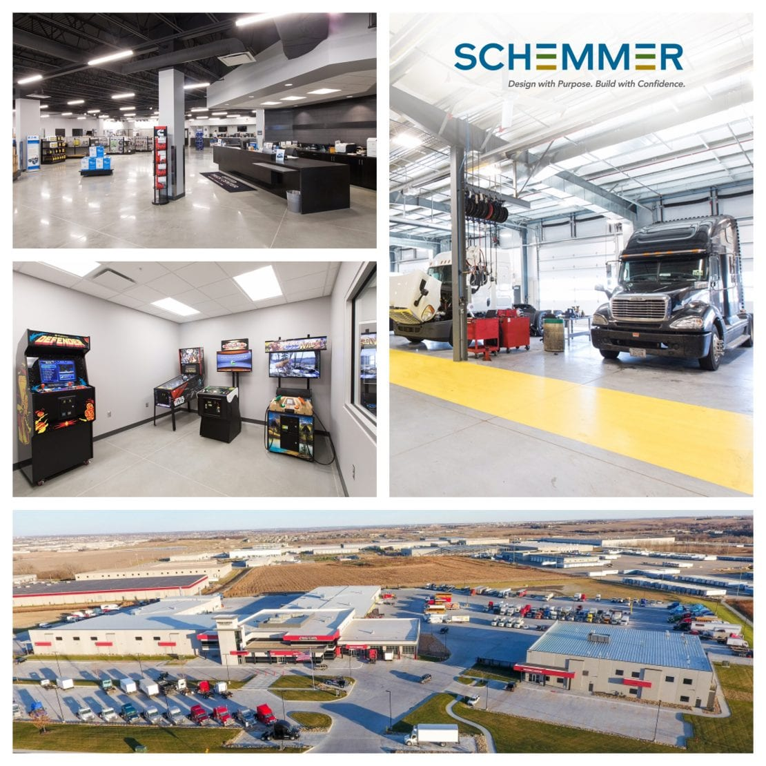 Schemmer also assisted Truck Center Companies