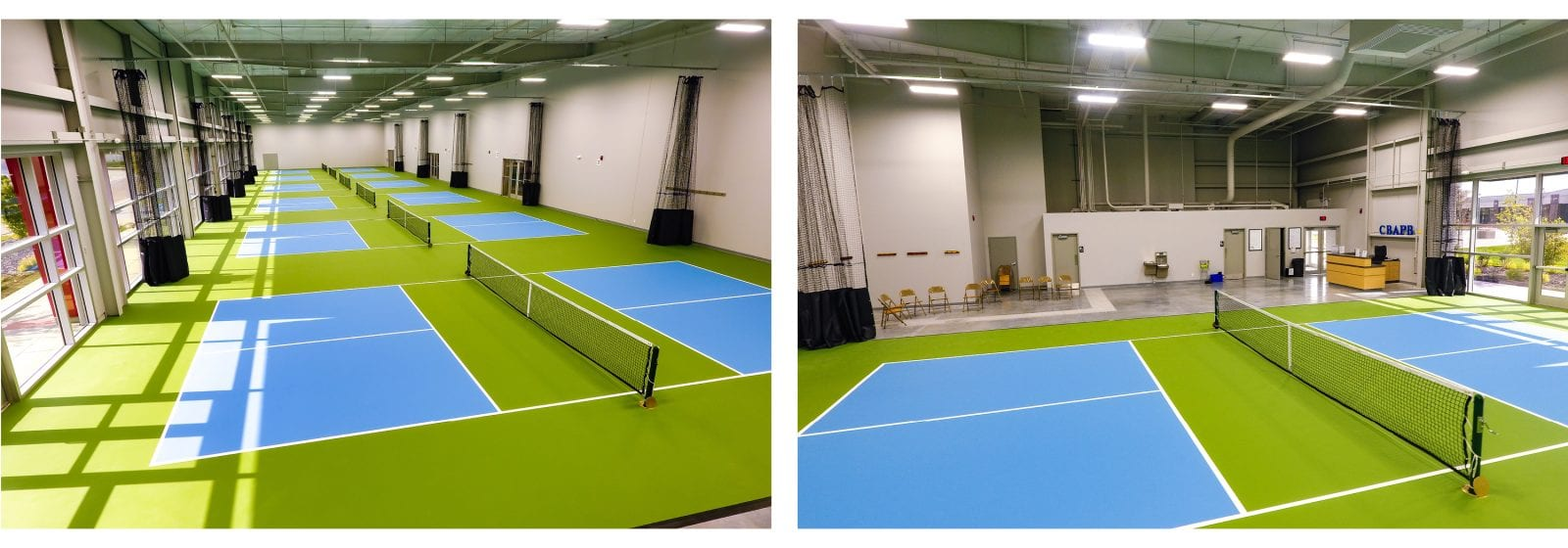 Iowa West Field Club Pickleball Court