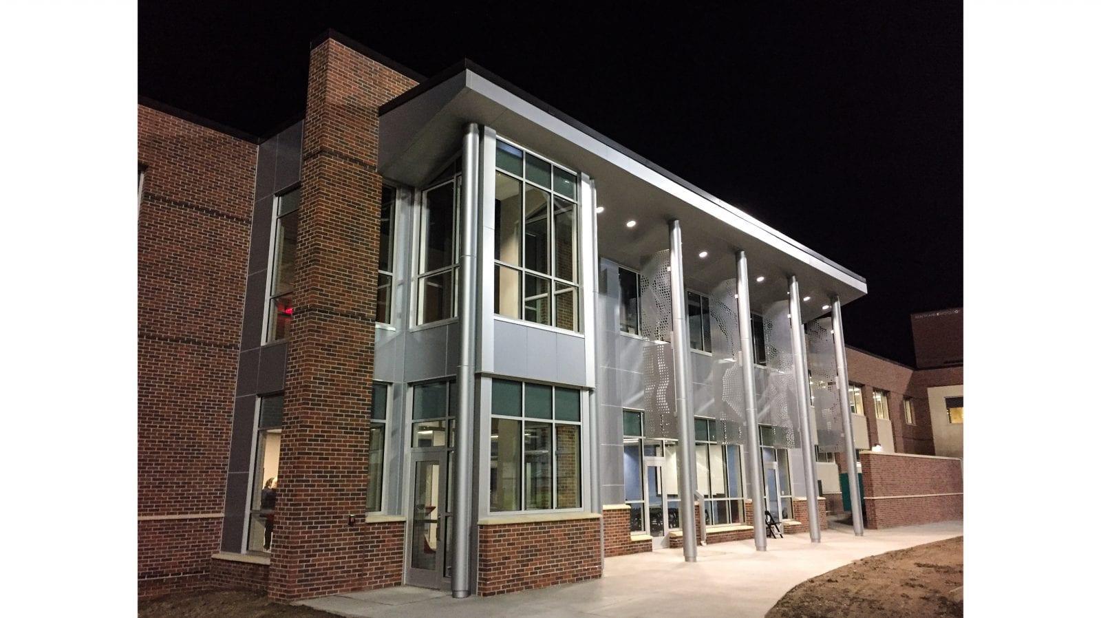 UNO's Biomechanics Research Building