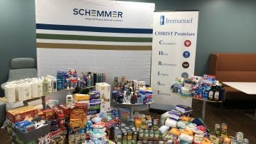 Heartland Hope Mission Donation Drive Schemmer