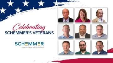 Celebrating Schemmer's Veterans Day 2019