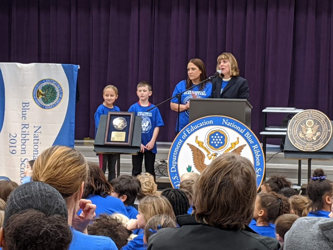 2019 National Blue Ribbon School Award Schemmer