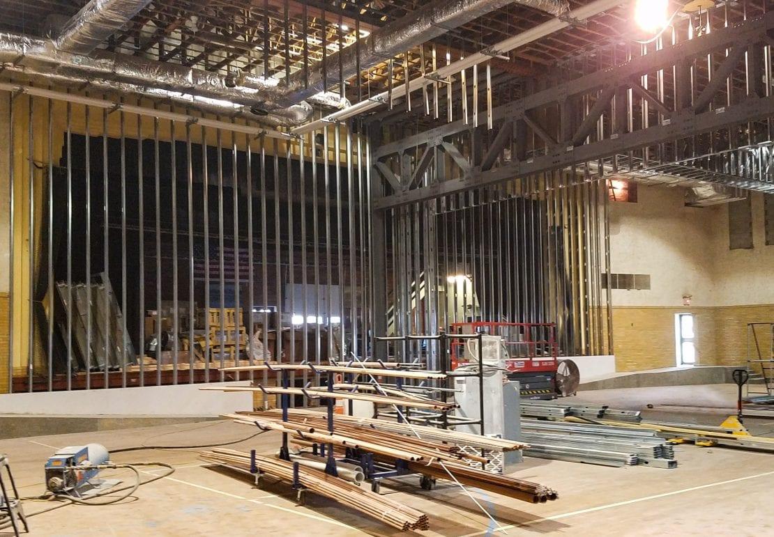 Schemmer_Fremont City Auditorium Progress