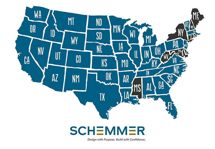 Schemmer Map - Worksites_revised