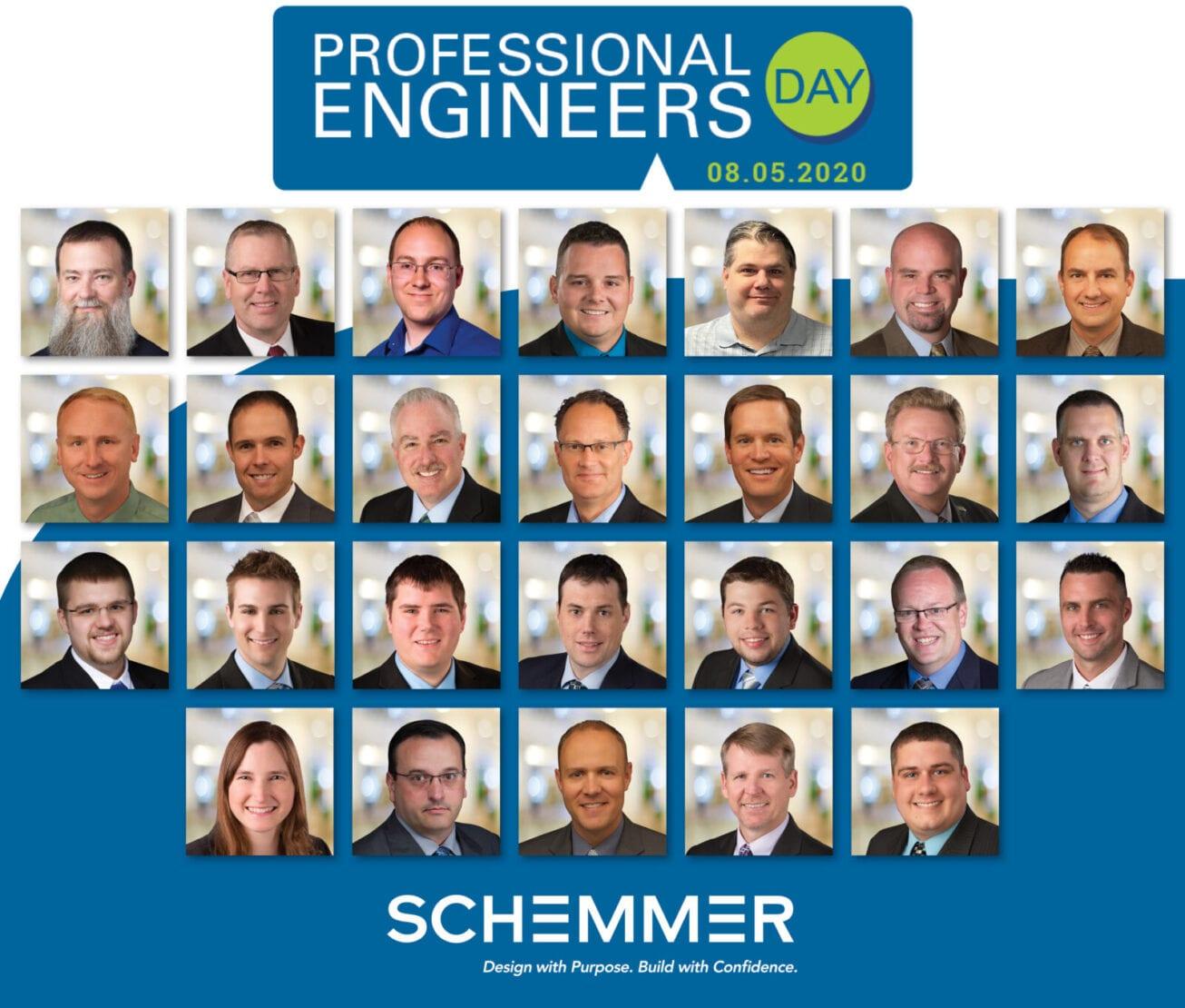 26 Professional Engineers Day! Schemmer