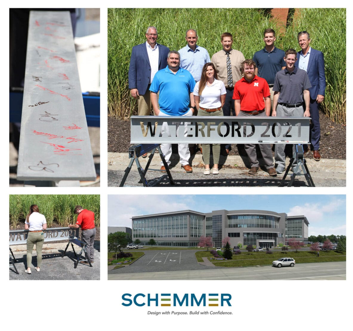Schemmer Waterford Traveling Beam Signing