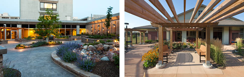 Schemmer Outdoor Spaces Assisted Living