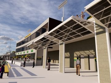Schemmer_Black Hills State University Yellow Jacket Stadium