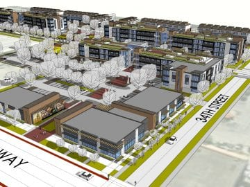 34th street and 1st avenue development , Schemmer