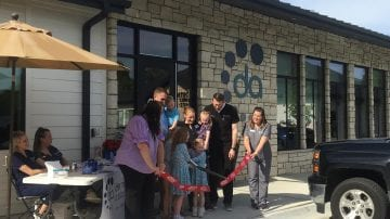 Ribbon Cutting at Dermatology Associates of Lincoln, Schemmer