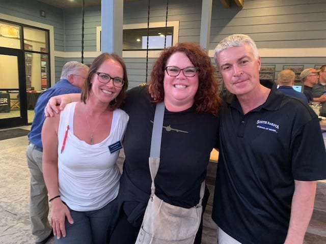 KT, Stacy Watter, Marty Jackley