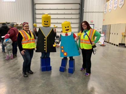 Katie Ashmore Lego Costume